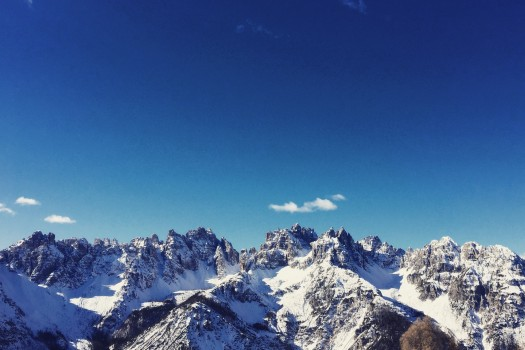 The Dolomites.