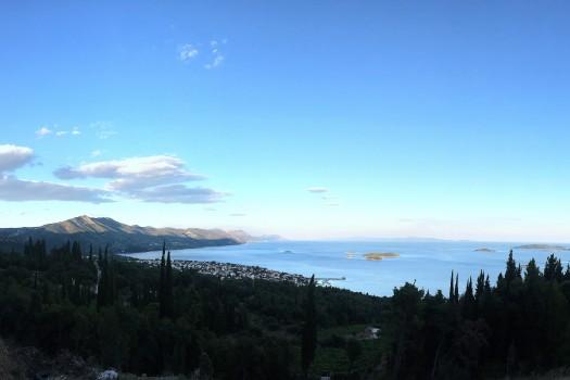 Panoramas of Peljesac.