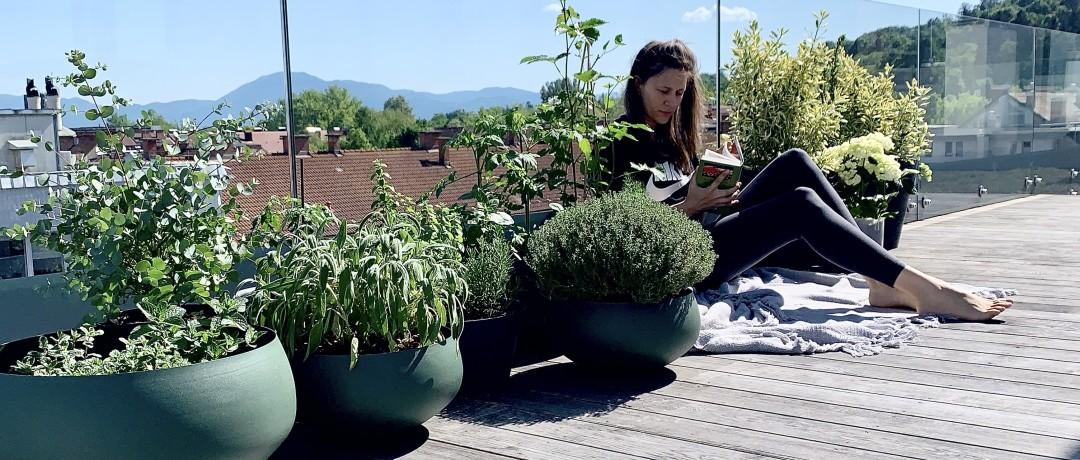 A crazy plant woman.