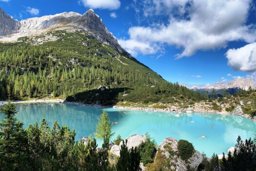 Sunny September </br>in Dolomites.
